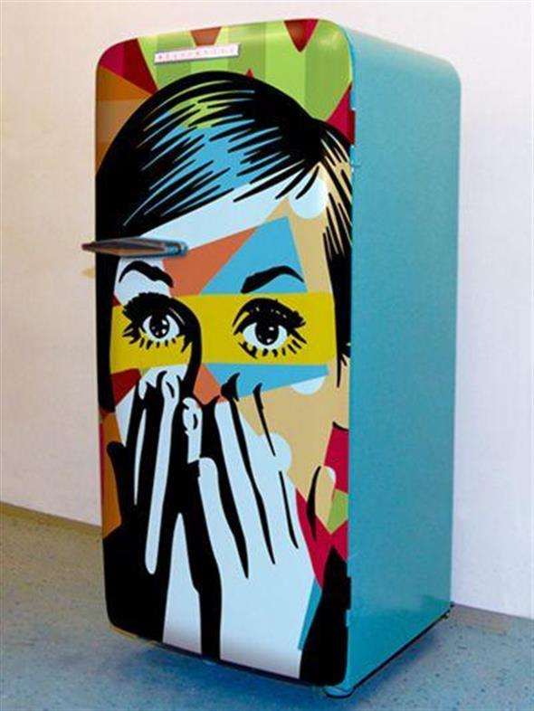 Geladeiras adesivadas for Stickers per mobili