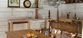 Lindas mesas de madeira rústicas para decorar sua casa