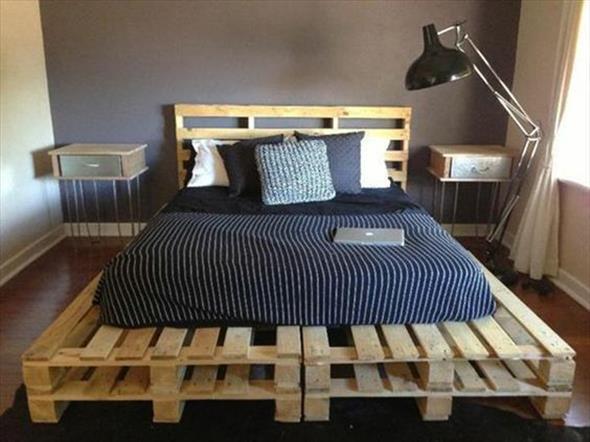 Como fazer uma cama de paletes 004