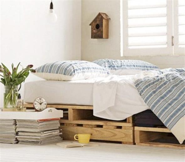 Como fazer uma cama de paletes 011