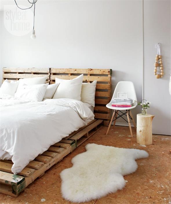 Como fazer uma cama de paletes 012