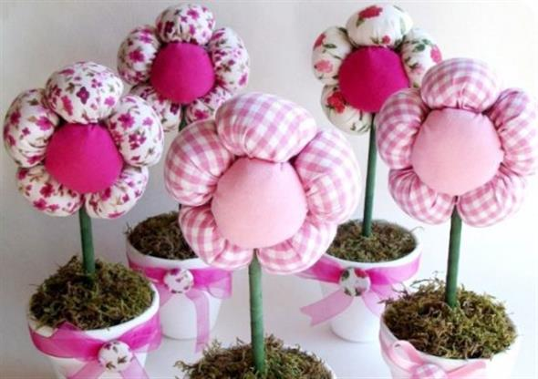Vasos decorativos para mesa de festa 002