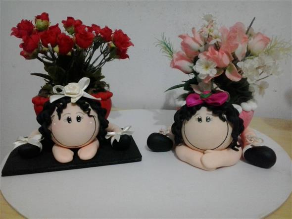 Vasos decorativos para mesa de festa 013