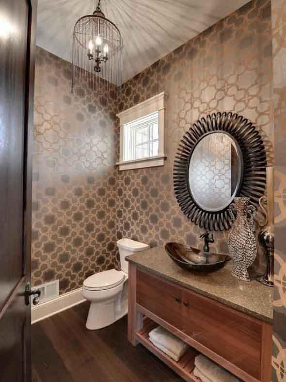 Papel de parede para banheiros 007