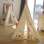 Faça uma cabana no quarto das crianças 001