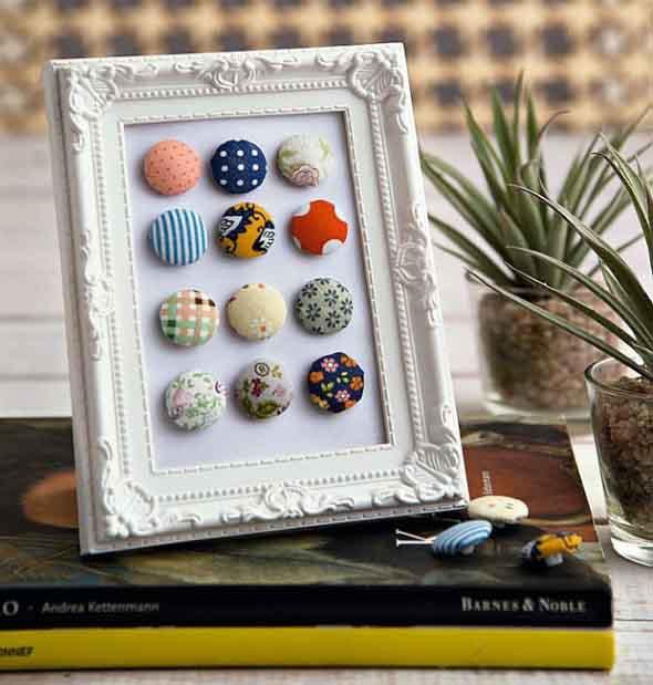 Botões de roupa na decoração 016