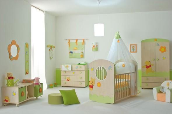 decoração para o quarto do bebê 007