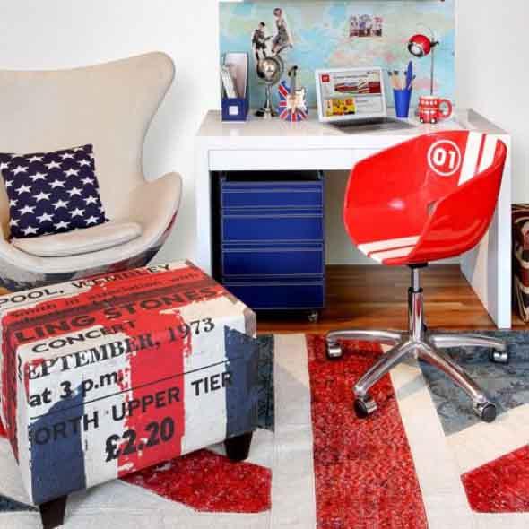 Decorando o quarto com bandeiras 003