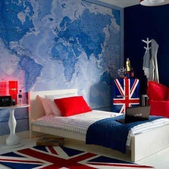 Decorando o quarto com bandeiras 014