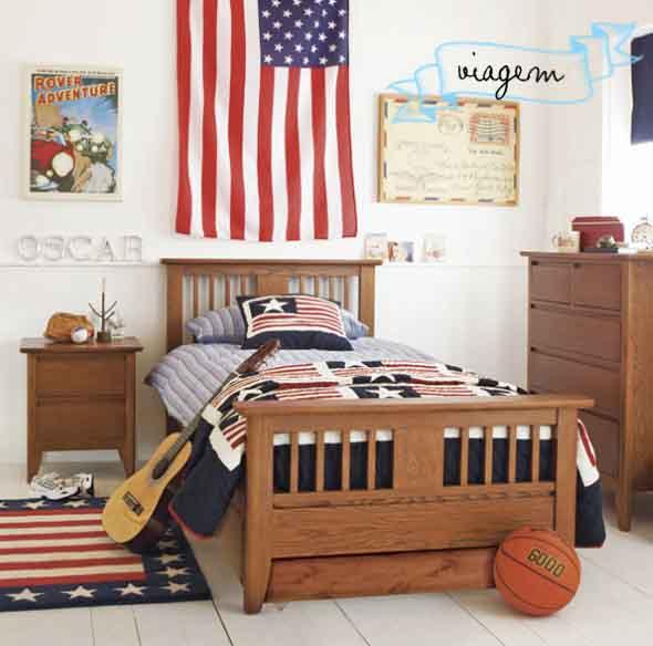 Decorando o quarto com bandeiras 016