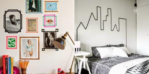 Ideias de decoração com fita isolante 002