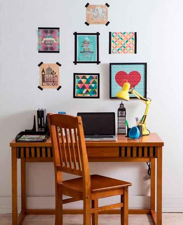 Ideias de decoração com fita isolante 005