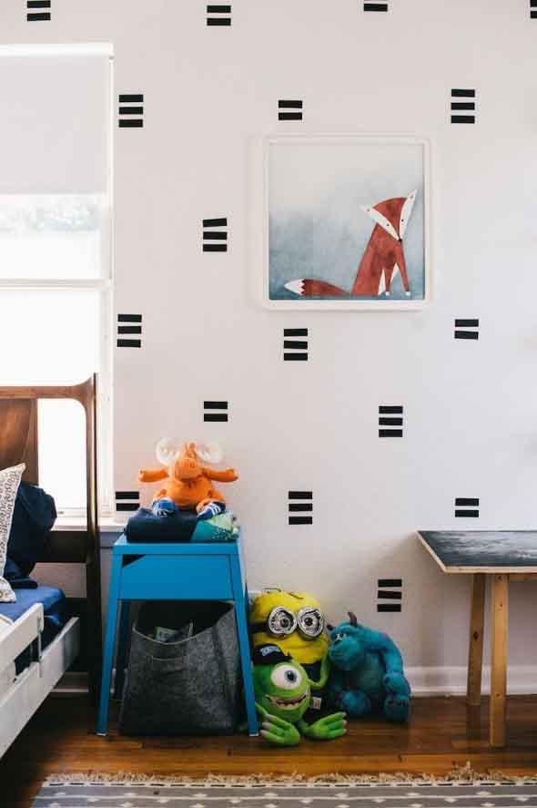 Ideias de decoração com fita isolante 014