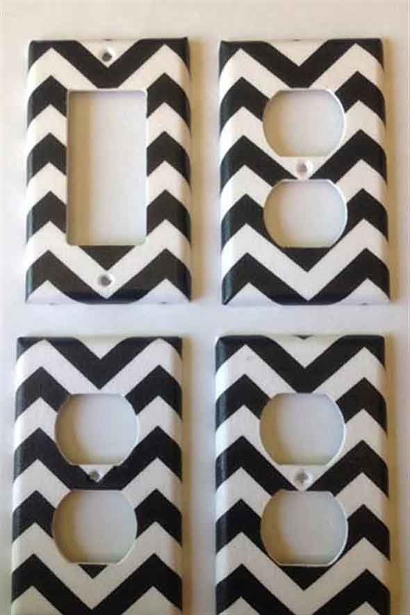 Ideias de decoração com fita isolante 017