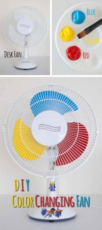 DIY - Como pintar o ventilador em casa 010