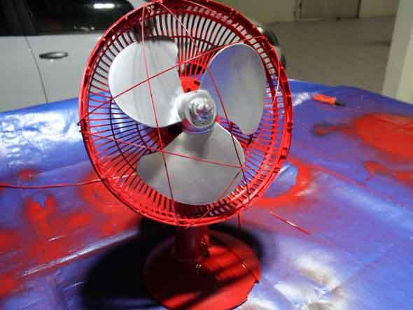 DIY - Como pintar o ventilador em casa 016