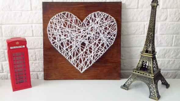 Quadro de coração para o Dia dos Namorados 005