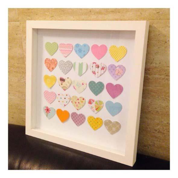 Quadro de coração para o Dia dos Namorados 011