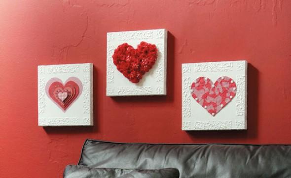 Quadro de coração para o Dia dos Namorados 016