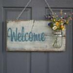 DIY - Como fazer placa de boas vindas 001
