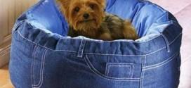 Decore sua casa com peças de jeans velhos