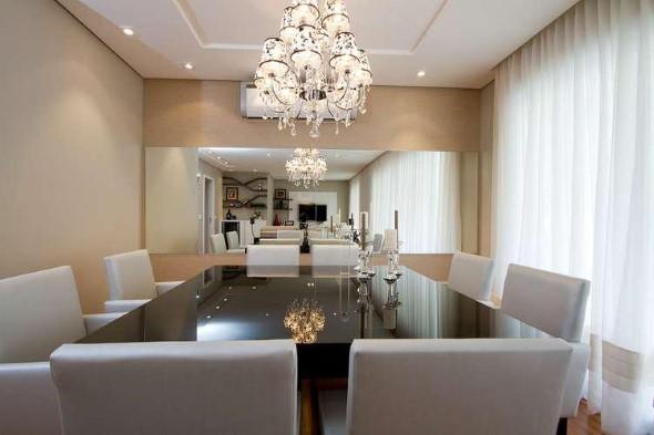 Decore sua sala de jantar com espelhos 001