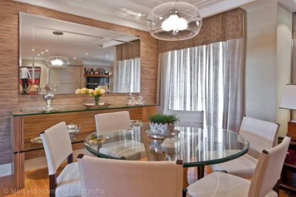 Decore sua sala de jantar com espelhos 003