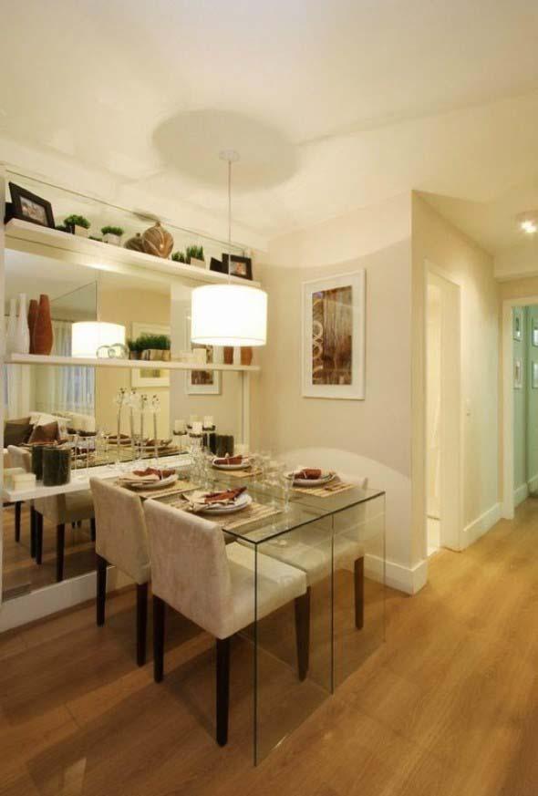 Decore sua sala de jantar com espelhos 013