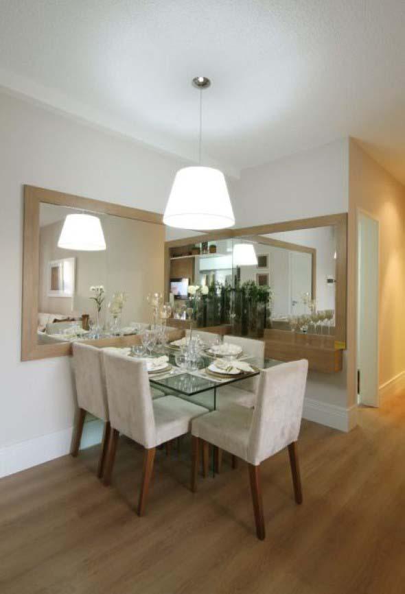 Decore sua sala de jantar com espelhos 014
