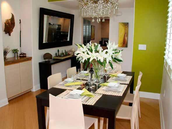 Decore sua sala de jantar com espelhos 017