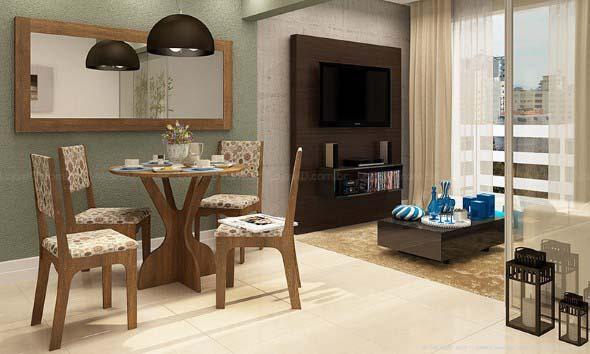 Decore sua sala de jantar com espelhos 018