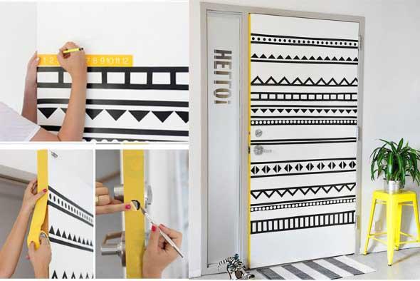 Dicas para decorar as portas com criatividade 001