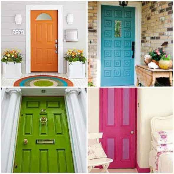 Dicas para decorar as portas com criatividade 007