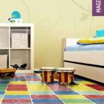 Piso emborrachado para quarto infantil 016