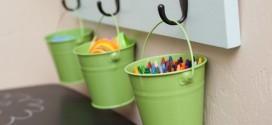 Ideias para usar baldes na decoração