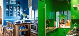 Colorido na decoração da cozinha