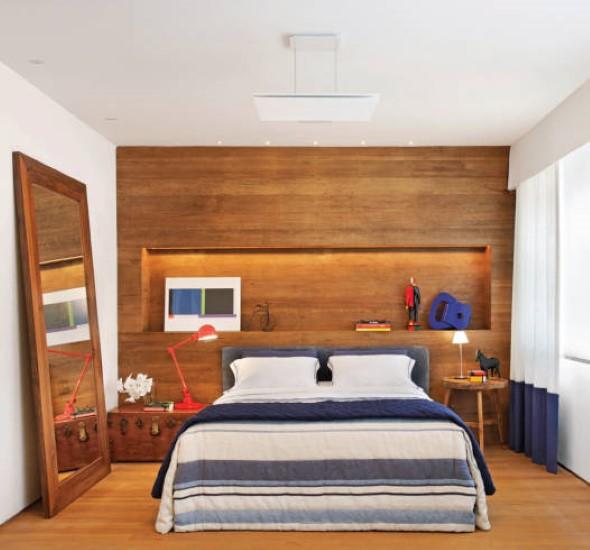 Decoração rústica nos quartos 003