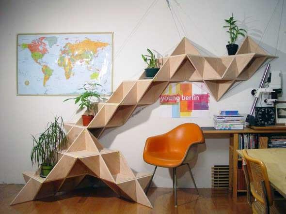 Decore sua casa com objetos geométricos 004