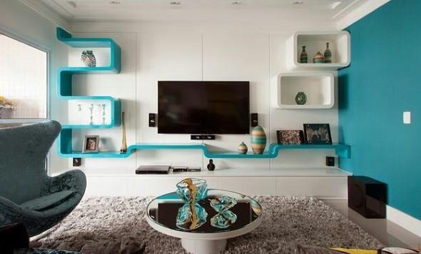 Decore sua casa com objetos geométricos 011