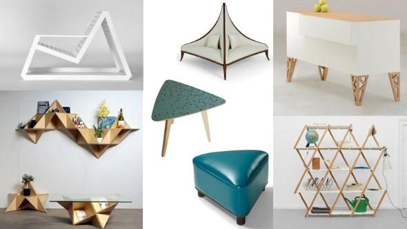 Decore sua casa com objetos geométricos 016