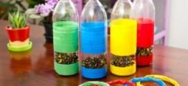 Brinquedos de material reciclado para o Dia das Crianças