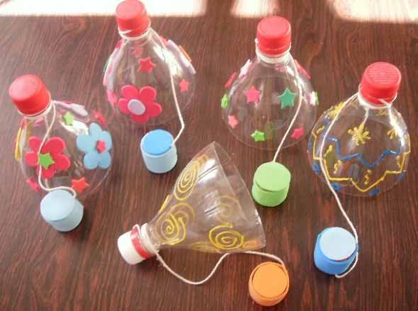 Brinquedos de material reciclado para o Dia das Crianças 012
