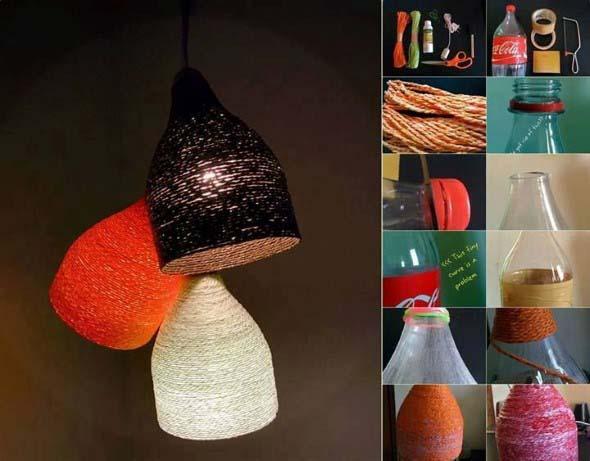 DIY - Como fazer uma luminária de barbante 001