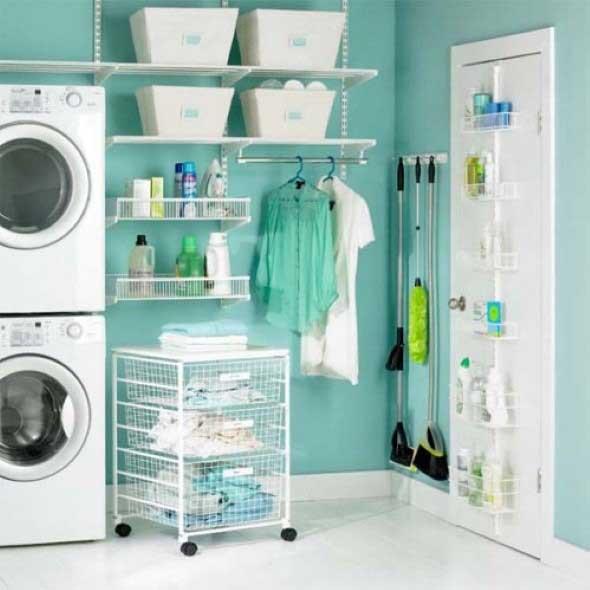 Lavanderia pequena e muito funcional 001