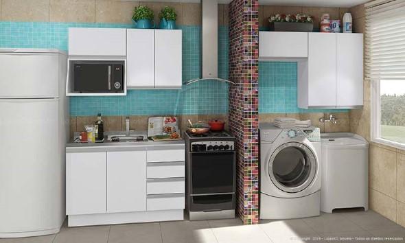 Lavanderia pequena e muito funcional 002