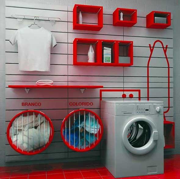 Lavanderia pequena e muito funcional 007
