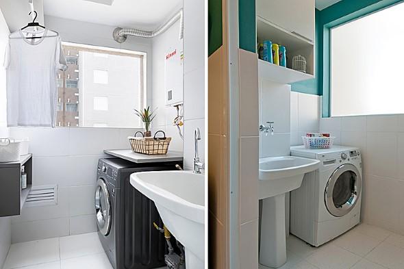 Lavanderia pequena e muito funcional 010