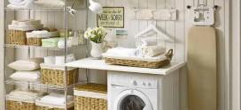 Lavanderia pequena e funcional – Confira dicas de organização