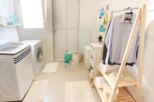 Lavanderia pequena e muito funcional 013