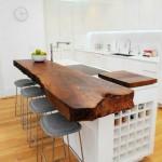 Usando madeira na decoração da cozinha 014